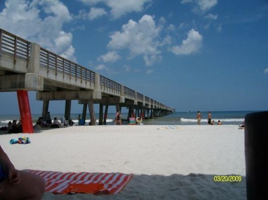 Jacksonville Beach, FL: Under The Pier At Jax Beach
