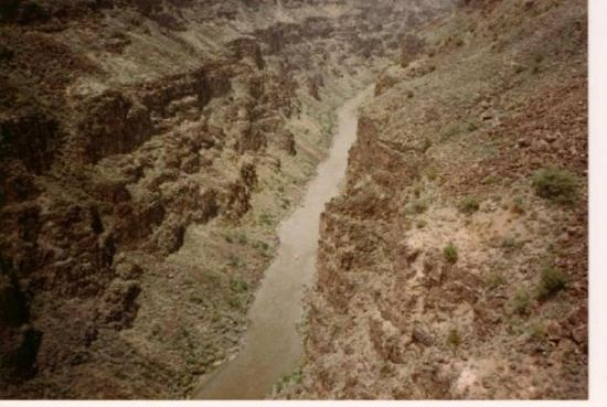 Tierra Amarilla, Nuevo Mexico: Would you believe? Rio Grande Gorge in New Mexico!