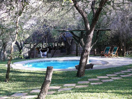 Gwalagwala: The pool - bit cold while we were there