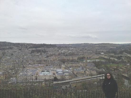Austen Guest House: A View of Bath from the park