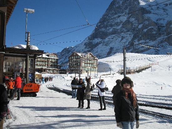 Hotel Gletschergarten: Kleiner Scheidegg