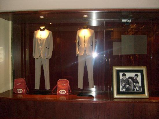New York City, NY: Beatle outfits in the Hard Rock cafe