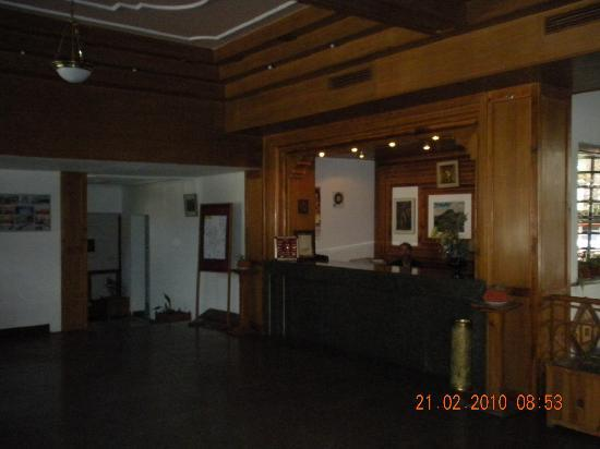 Manali Heights: Reception area