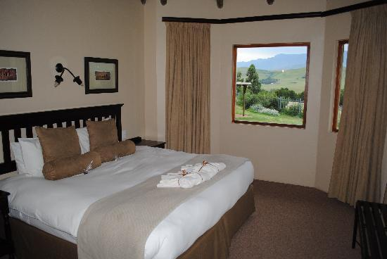Montusi Mountain Lodge: spacious, comfortable rooms
