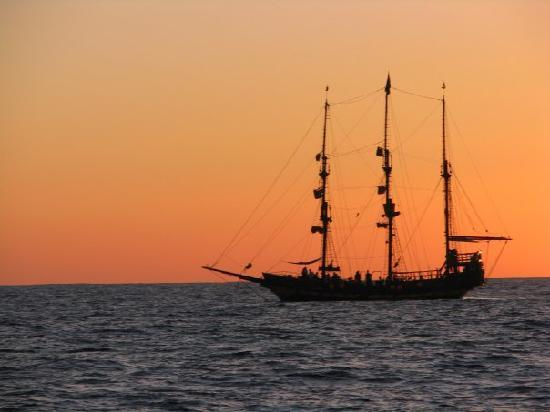 Day Sail Cabo: My favorite sunset pic