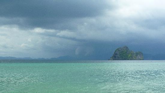 Kantiang Bay View Resort: kantjang bay-4 islands tour-storm
