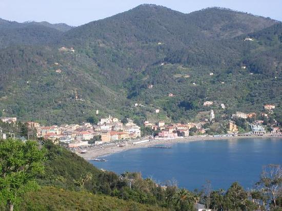 Levanto, Blick von La Francesca