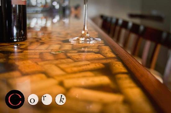 Cork wine tapas bar new bedford menu prices for Wine cork bar top