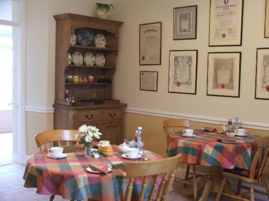 Balcary Mews Bed & Breakfast: breakfast room