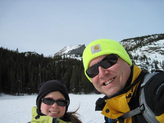 Mountain Shadows Resort: My wife and I... snowshoeing