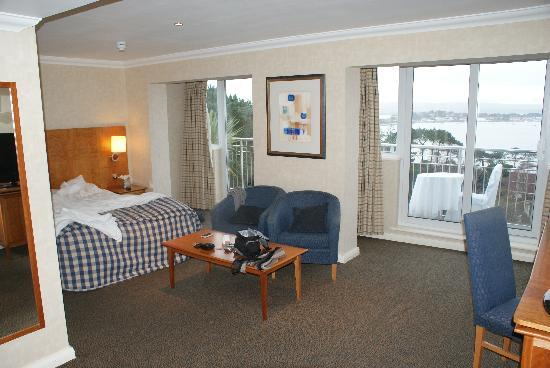 Sea view room at Harbour Heights hotel