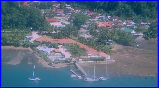 Hotel y Restaurant Samoa del Sur : Vista Aerea