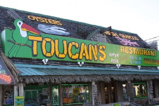 Toucan S Restaurant Toucans Mexico Beach Florida