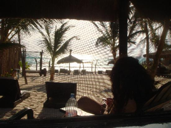 relaxing at playa mambo