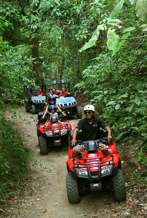 Jacó, Costa Rica: Adventure Tours Costa Rica:  Full Day ATV Tour Del Rey