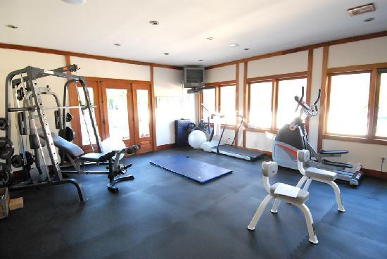 East Hampton Art House Bed and Breakfast: Work out in our airy and spacious fully equipped gym. It's all here waiting for you. You don't h
