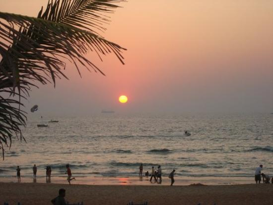 Calangute, India: on of the best things...