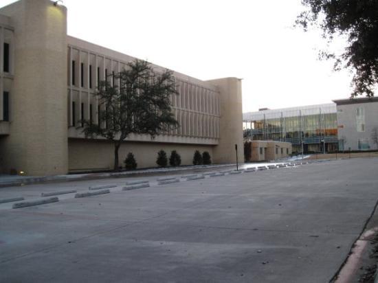 Texas Christian University: TCU-yliopisto rakennus.