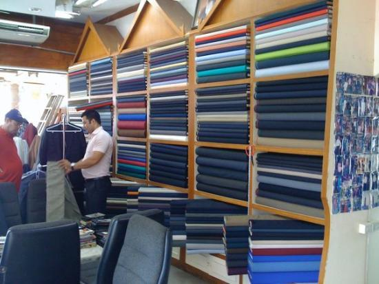 Patong, Thailand: In the tailors