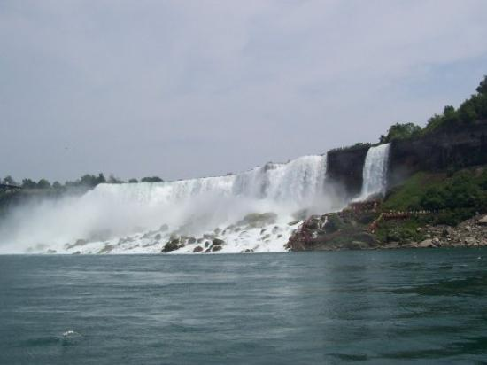 Bridal Veil Falls: Taken from The Maid of The Mist