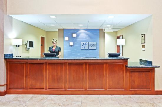 Holiday Inn Express: Our friendly and knowledgeable staff is eager to assist you