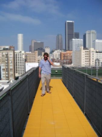 rooftop walkways - Foto de Downtown Historic District, Los Angeles