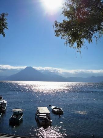 Panajachel, Guatemala: Lake Atitlan in Panahachel.