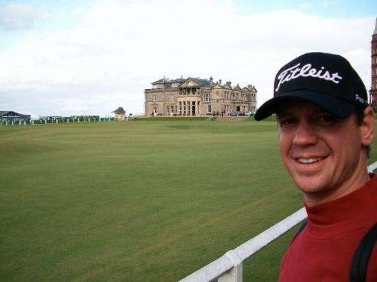 The Royal & Ancient Golf Club of St. Andrews: R & A in the background