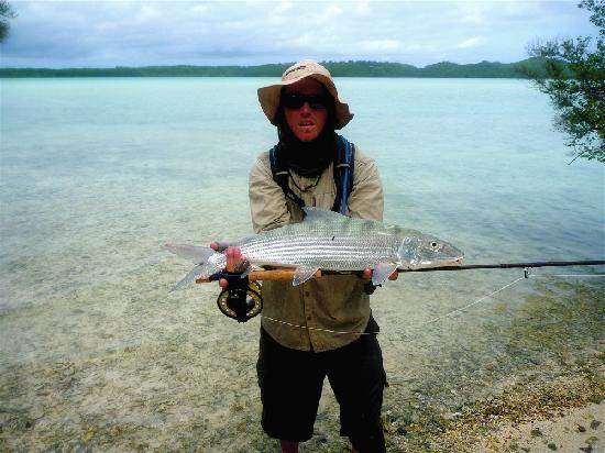 Popoara Ocean Breeze Villas: Aitutaki Bonefish!!!