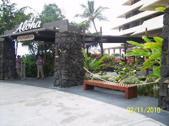 Royal Kona Resort: enterence