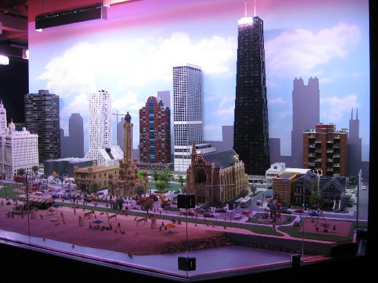 LEGOLAND Discovery Center: The Chicago Skyline in Legos