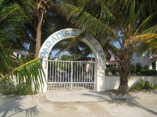 Belize Tradewinds Paradise Villas: Hotel entry