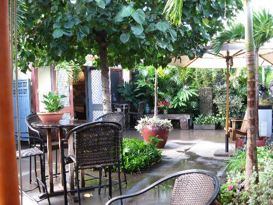 Paia Inn Hotel: Courtyard @ the Inn