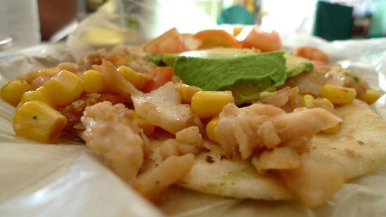 Gordo Lele's Tacos & Tortas: Shrimp taco