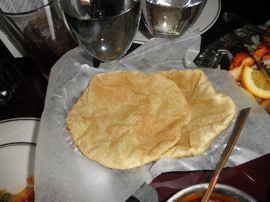 India Palace : bread