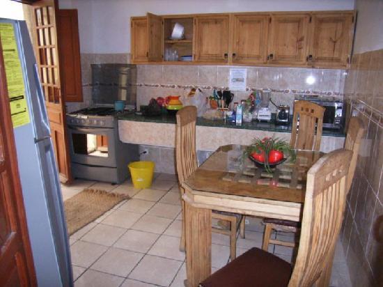 Posada San Pablo: kitchen