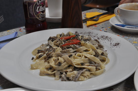 Anton's Best of Tasmania Pizza, Pasta & More: Hand made Fettucinne ...Yummy ^_^V