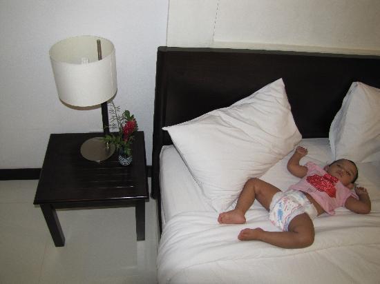 Krabi Aquamarine Resort & Spa: Bed