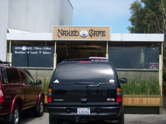 Naked Cafe: TOM DELONGE'S favorite restaurant!!!!!!!!!!!! ....and i def know why. it was AWESOME.