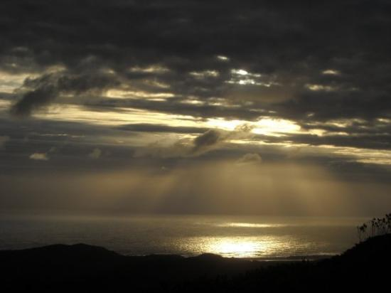 Knysna, Südafrika: What a sunset  that was..