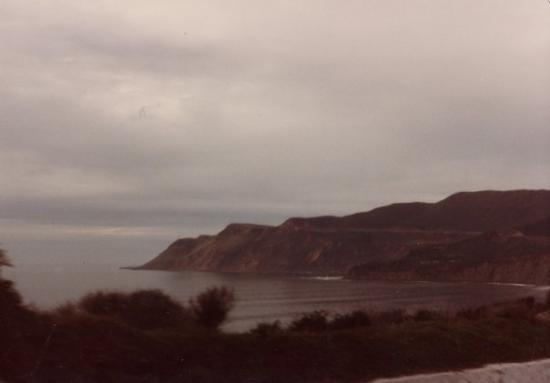 1984 Coastline near Rosarito Beach, Baja California, Mexico