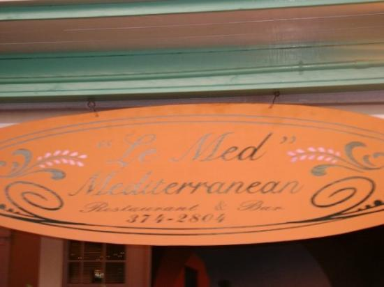 Le Med Mediterranean Restaurant: awesome place to eat