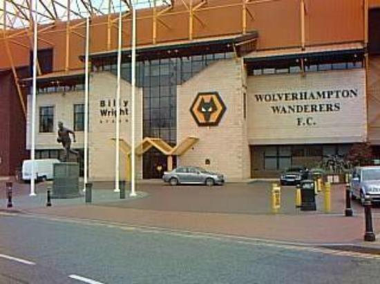 Вулверхэмптон, UK: Wolve's Stadium, Wolverhampton, UK