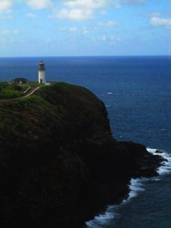 Kilauea, ฮาวาย: We drive to the historic, and beautiful Kilahuea Light House.  We arrive at 4pm, closing time!