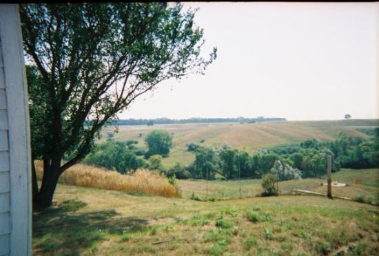 a view    - picture of jamestown  north dakota