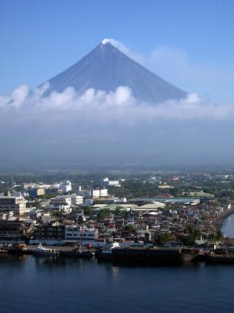 Mayon Volcano (view from Legaspi City)