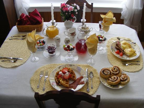 Azelia Farmhouse B & B: a breakfast sample