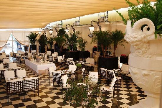 El Palace Hotel: Jardin 01/feb/2010