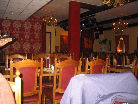 Gula Huset: Salle de restaurant