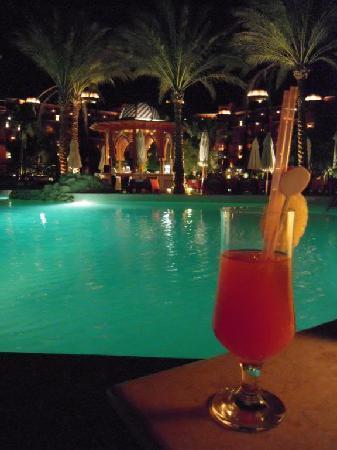 the hotel at night  Grand Resort 5*, Єгипет,  Хургада - photo